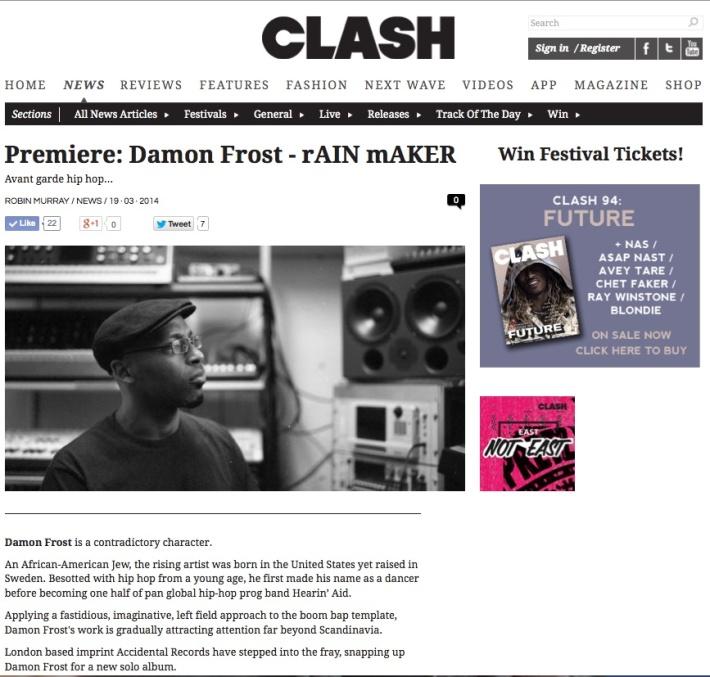 damon clash
