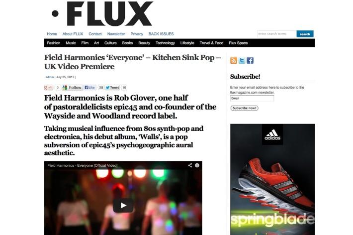 field harmonics flux