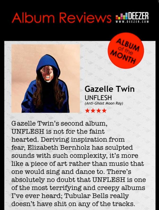 Gazelle Twin Artrocker