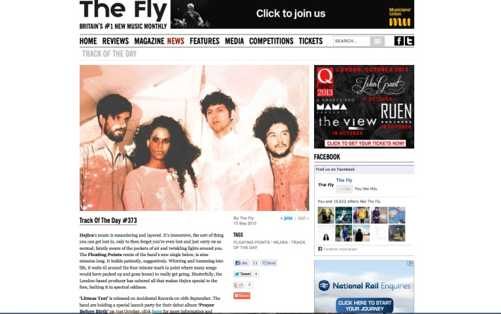 hejira the fly
