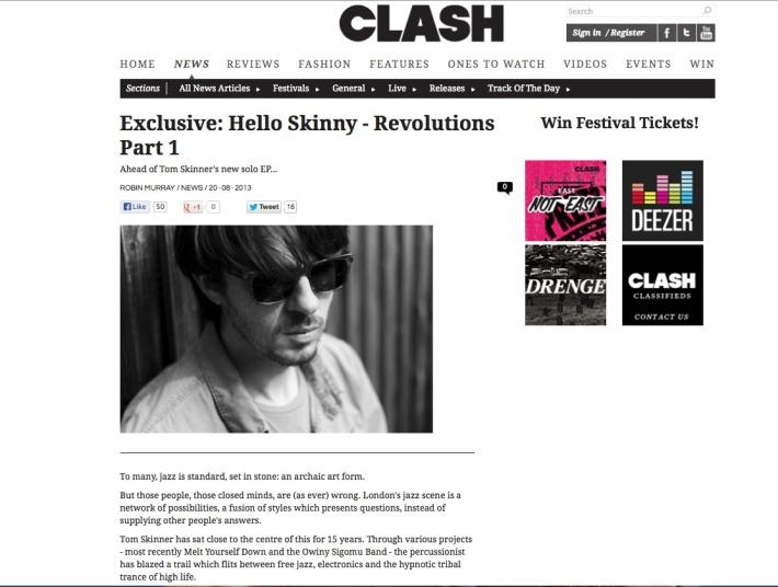 hello skinny clash
