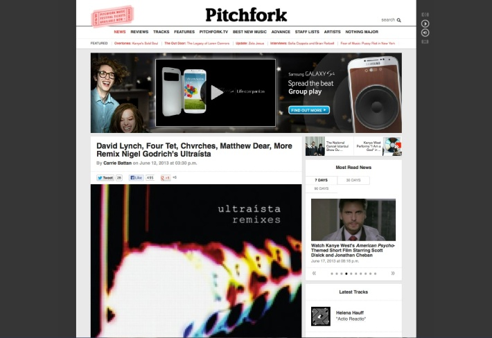 ultraista pitchfork